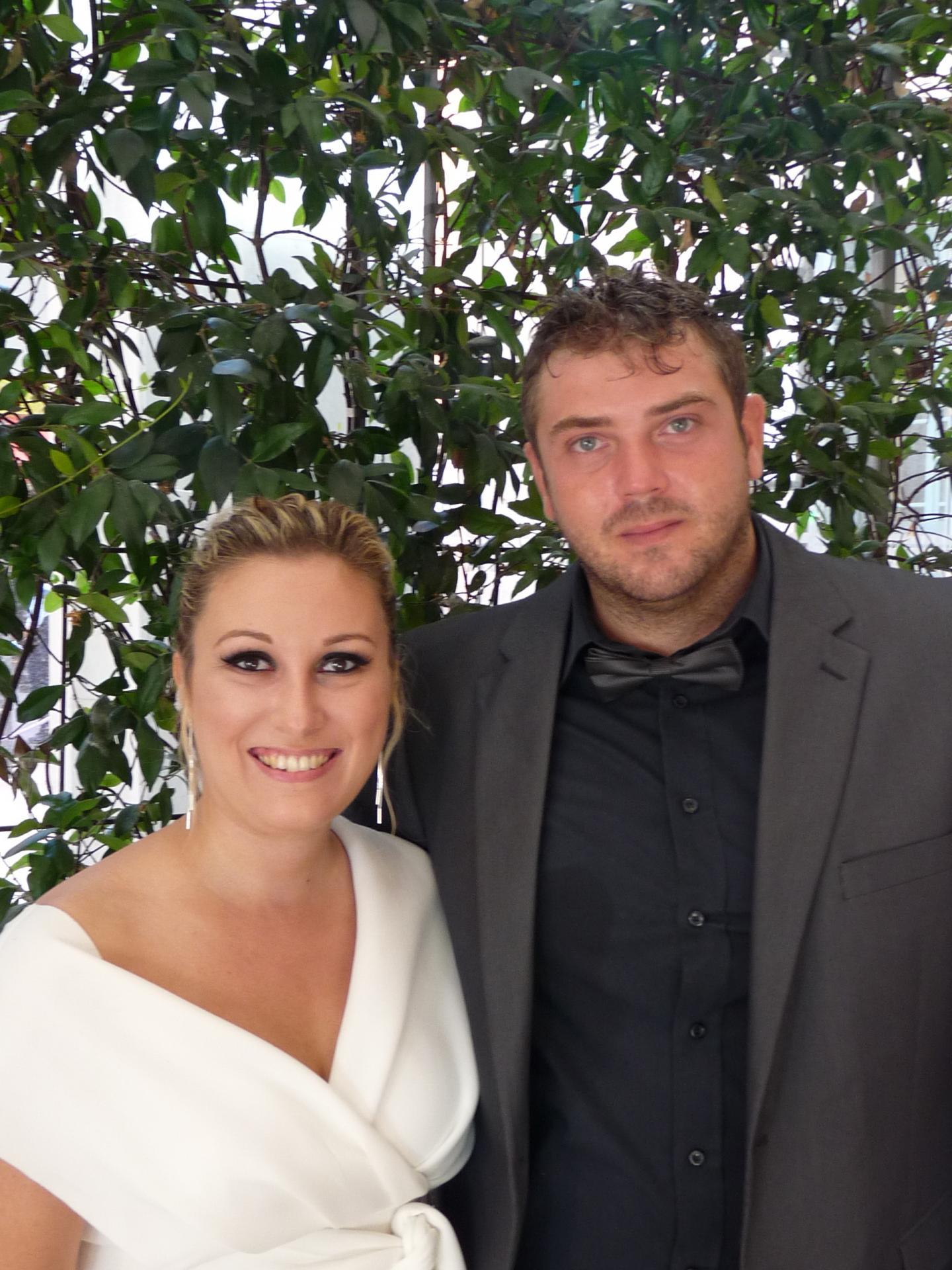 Laura Sauvage, serveuse, et Francesco Moni, chef cuisinier.