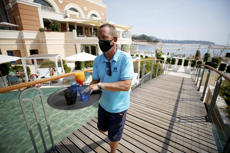 Eric Wolles, responsable de la partie balnéaire (piscine, plage, bar du Lagon)