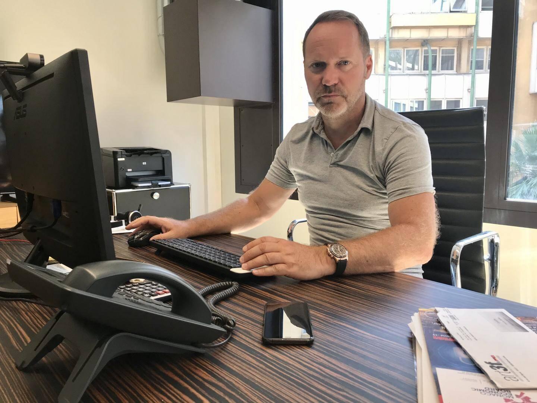 Pierre Pélissier, le patron de la société monégasque Cruiseline.