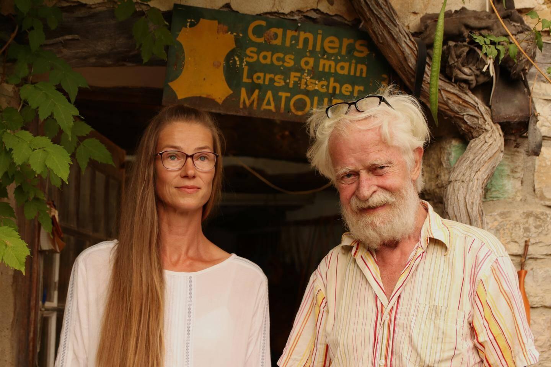 Arlette et son papa, Lars Fischer.