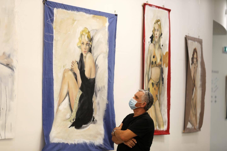 L'exposition de la Niçoise Agnès Gojon Nasica est visible au Théâtre de l'Esplanade.