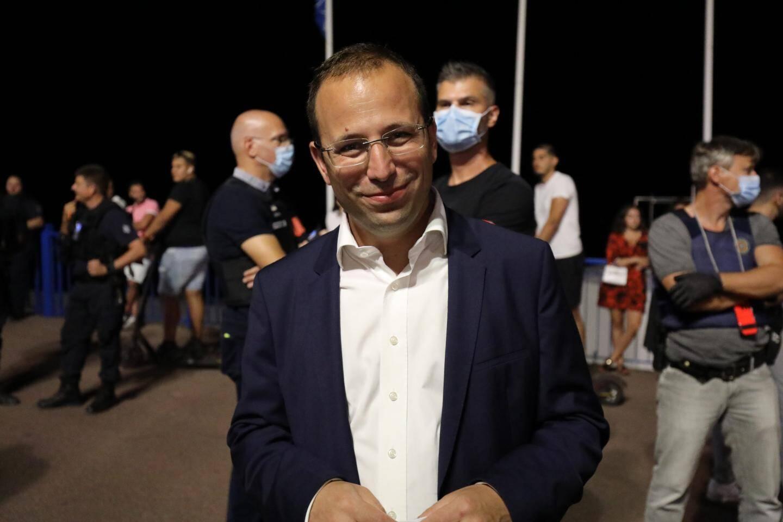 Anthony Borré, premier adjoint au maire de Nice et président de Côte d'Azur Habitat.
