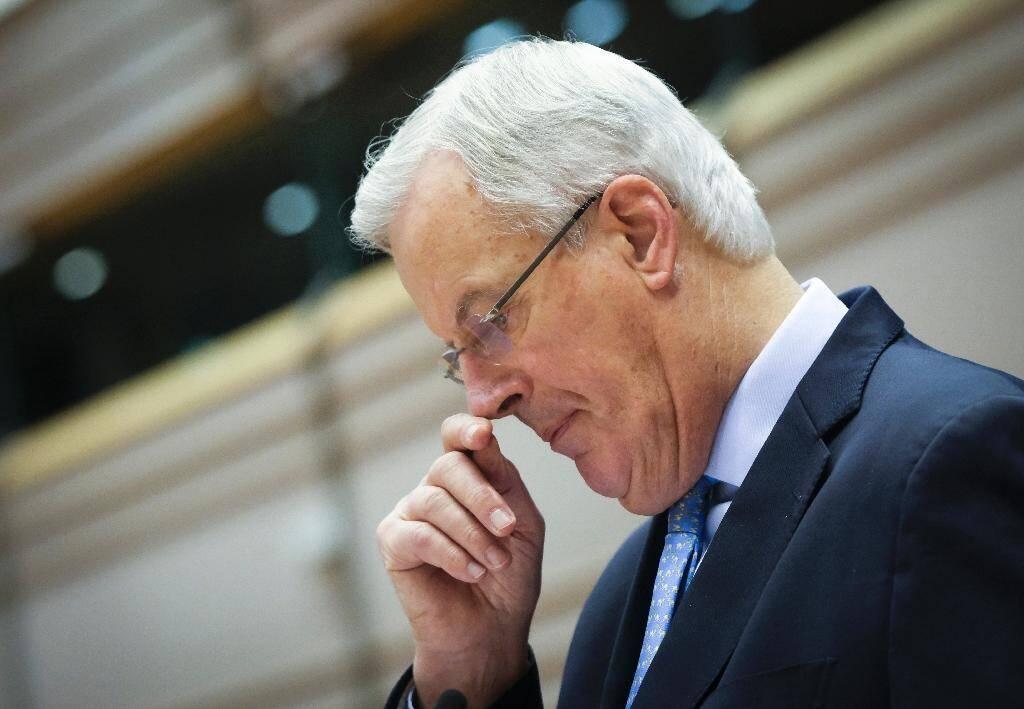 Michel Barnier, négociateur européen sur le Brexit, au parlement européen le 21 octobre 2020