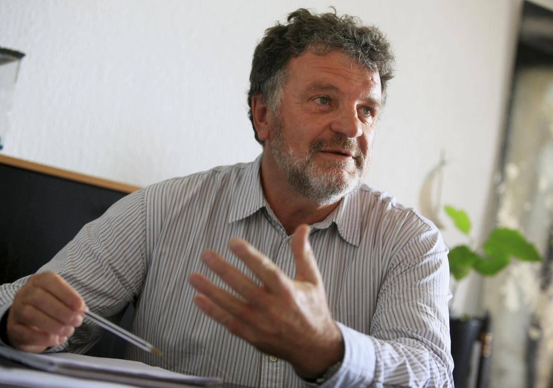 Marc Duncombe, directeur du parc national.