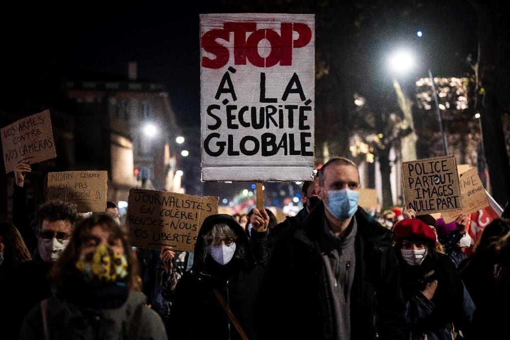 """Manifestation contre la loi de """"sécurité globale"""", le 26 novembre 2020 à Toulouse"""