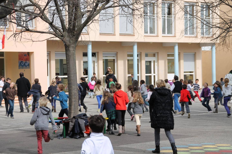 Au Rouret, le collège et les écoles sont associés au projet.