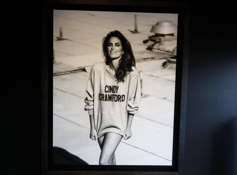 L'iconique Cindy Crawford à Los Angeles.