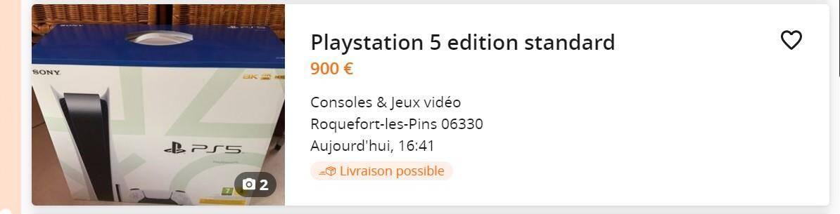 400 euros de plus pour celle-ci.
