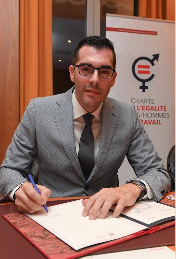 Fabien Deplanche, patron de Probat et président de la chambre patronale du bâtiment.