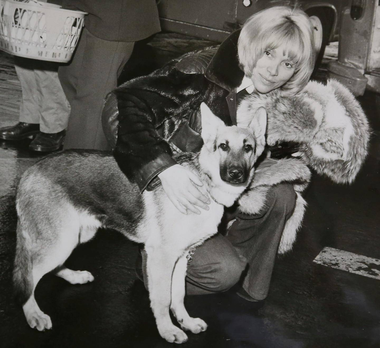 L'actrice dans les années soixante-dix.