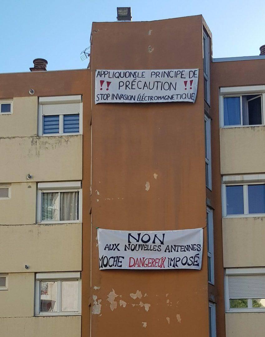 """""""Supporter sept antennes sur le toit d'un seul immeuble, c'est déjà beaucoup."""""""