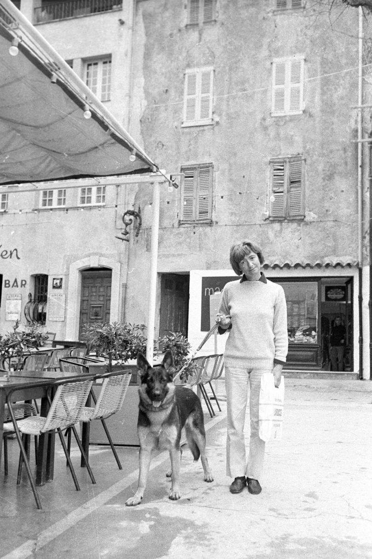 Françoise Sagan à La Plonche