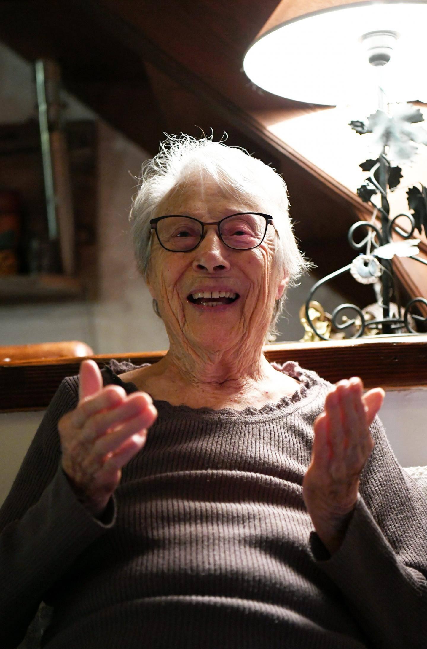 Rose aura 100 ans le 26 juin prochain