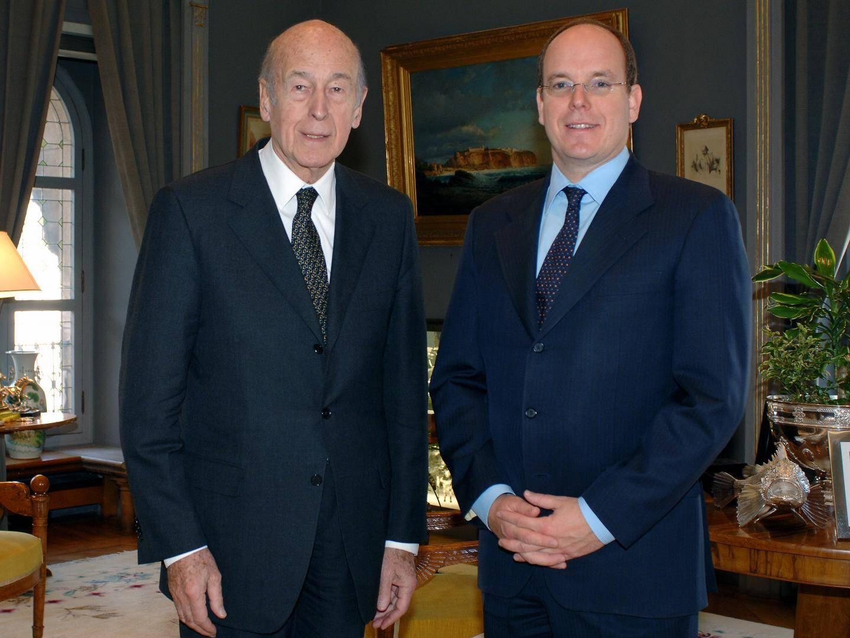 À l'occasion de ses conférences en Principauté, l'ancien chef de l'État français a été régulièrement reçu en audience privée par le souverain.