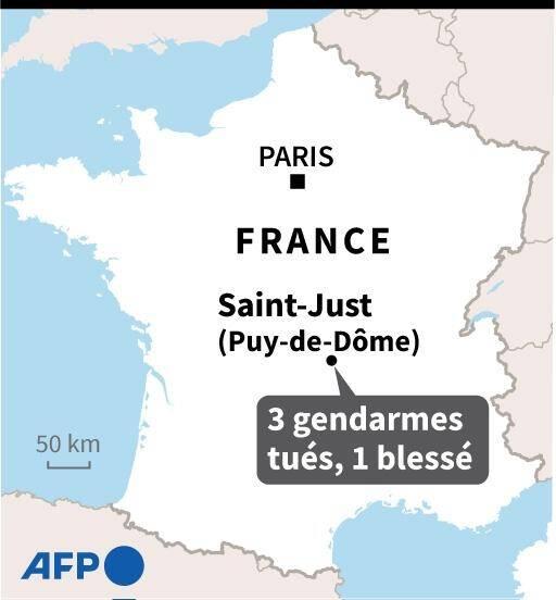 Fusillade meurtrière dans le Puy-de-Dôme