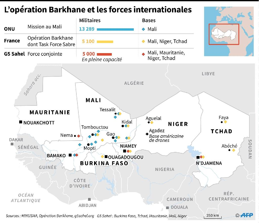 Sahel : l'opération Barkhane et les forces internationales