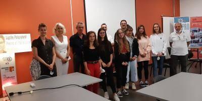 Six lycéennes de Menton lauréates au concours de nouvelles