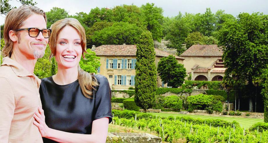 Le couple de stars officialise son statut de vignerons varois en lançant un rosé bio