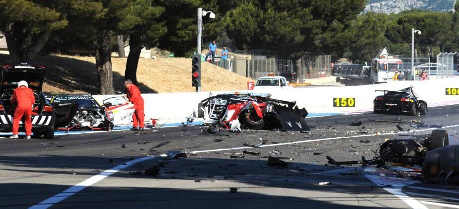 Accident circuit du Castellet