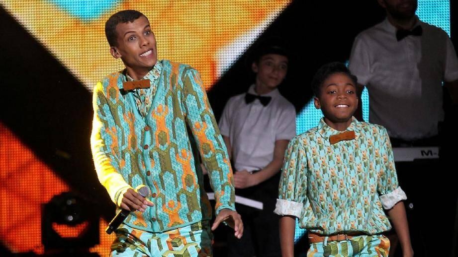 Stromae, le grand favori de la cérémonie de ce soir. Indochine ou -M- figurent également parmi les possibles vainqueurs.