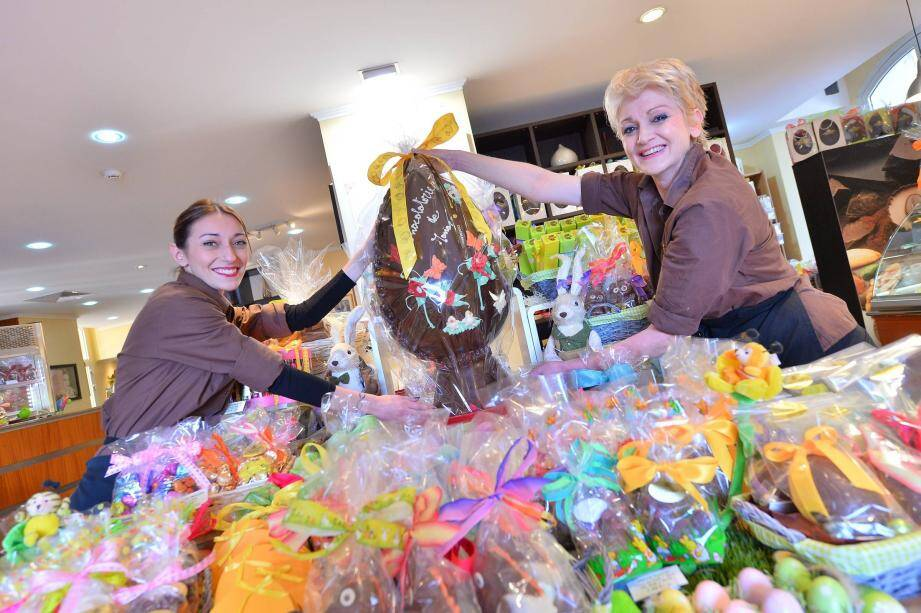 Pour Pâques, la Chocolaterie propose de nouveaux sujets cacaotés… garnis de surprises.
