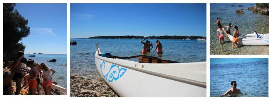A la découverte du patrimoine local en pirogue polynésienne