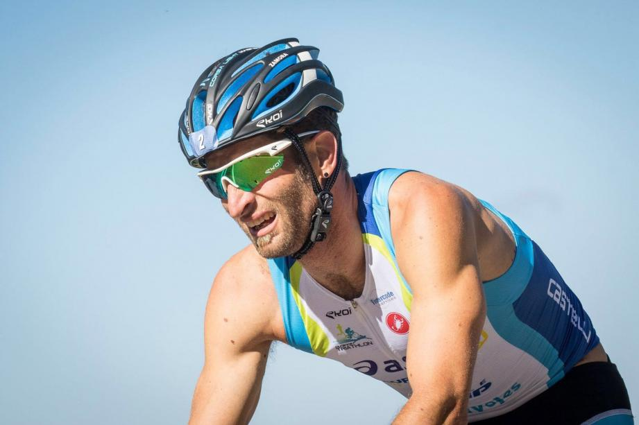 Marcel Zamora, une des légendes du triathlon est l'ambassadeur du Trigames pour la première édition. (DR )