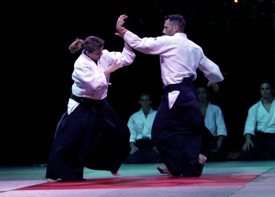 L'aïkido sera présenté par deux professeurs antibois, Philippe Voarino et Alain Grason, tous deux élevés au grade de 7e dan.