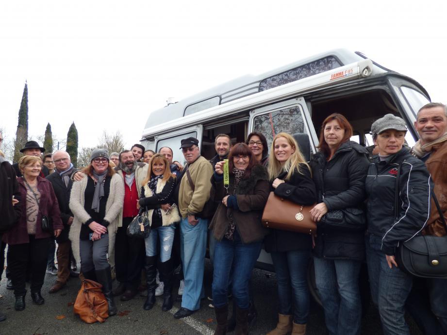 En janvier dernier, tout le village de Cogolin était venu réceptionner le camping-car qu'il avait contribué à acheter pour donner un toit à Gégé.