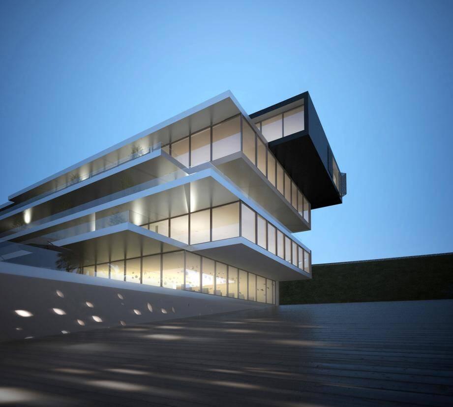 Le projet architectural est signé Jean-Michel Wilmotte.