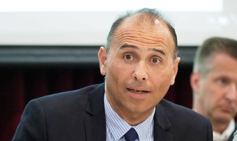 Jean-Bernard Mion, maire de La Colle