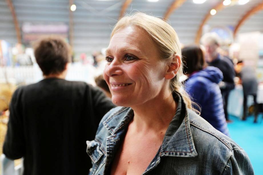 Marilyn Rittano était présente avec ses confitures, il y a quelques jours, au salon  Terroir autour du vin, à Draguignan.