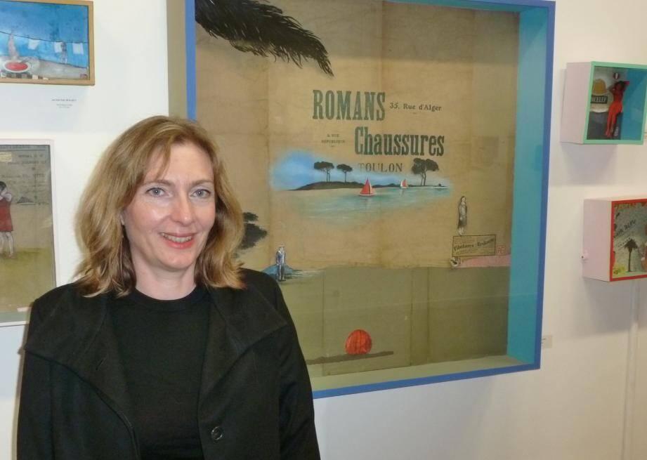 """A travers l'exposition """"Mise en boîtes"""", Alexandra Giacobazzi vous invite à entrer dans ses univers pour y découvrir des fables contemporaines."""