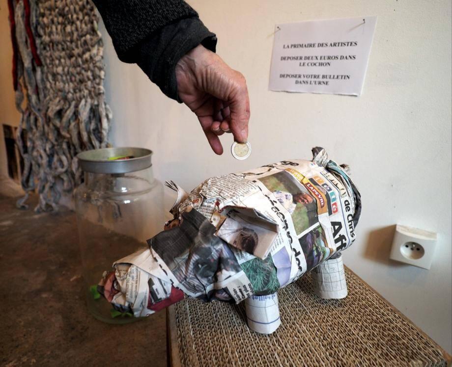 6 décembre 2016, c'est la primaire des artistes au Haut-de-Cagnes en pleine primaire politique.