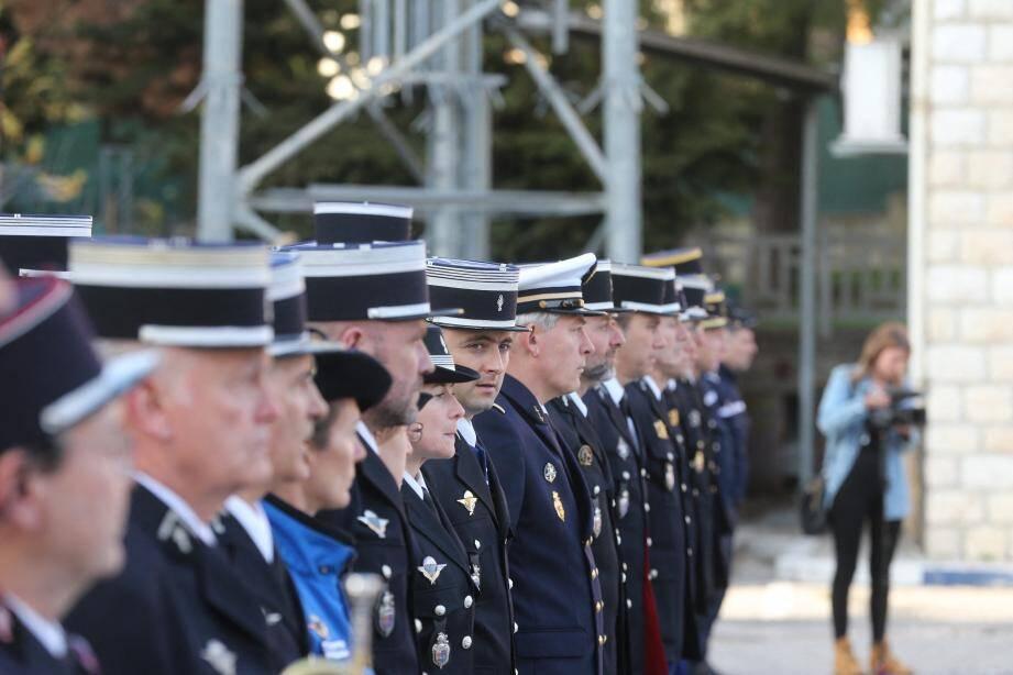 Le groupement de de gendarmerie des Alpes-Maritimes a rendu hommage à son frère d'armes Arnaud Beltrame.