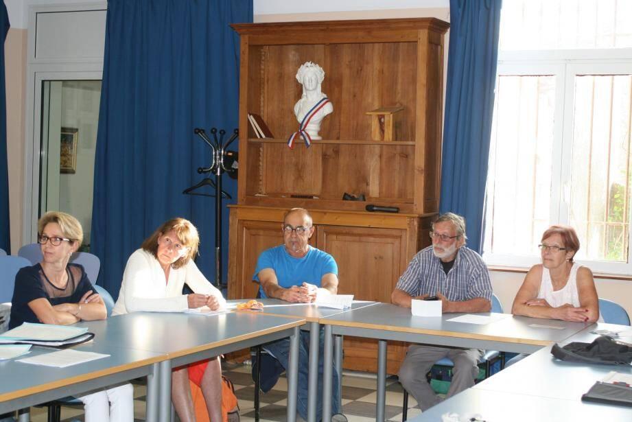 Les bénévoles du CCFF vont suivre des séances de formation.