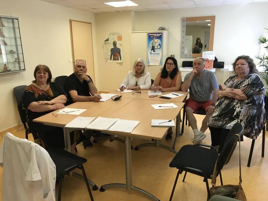 Une cohésion s'installe entre les pensionnaires de l'Unité de diététique qui se soutiennent mutuellement.