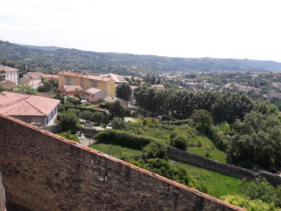 Le jardin du couvent vu de haut, depuis le boulevard Gambetta