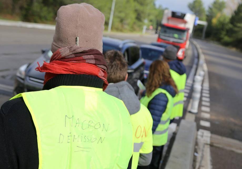 Les Gilets jaunes ont manifesté ce dimanche en Centre-Var