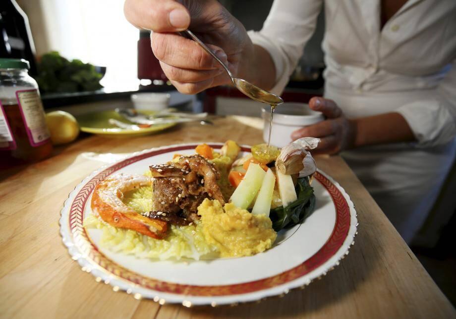 Nathalie Chelly, la chef du restaurant La Musar'Dîne, qui vous a concocté ce bon petit plat.