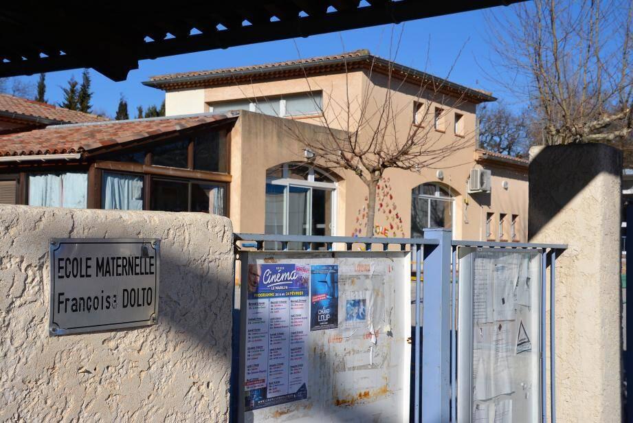 L'école Françoise-Dolto est fermée depuis lundi.