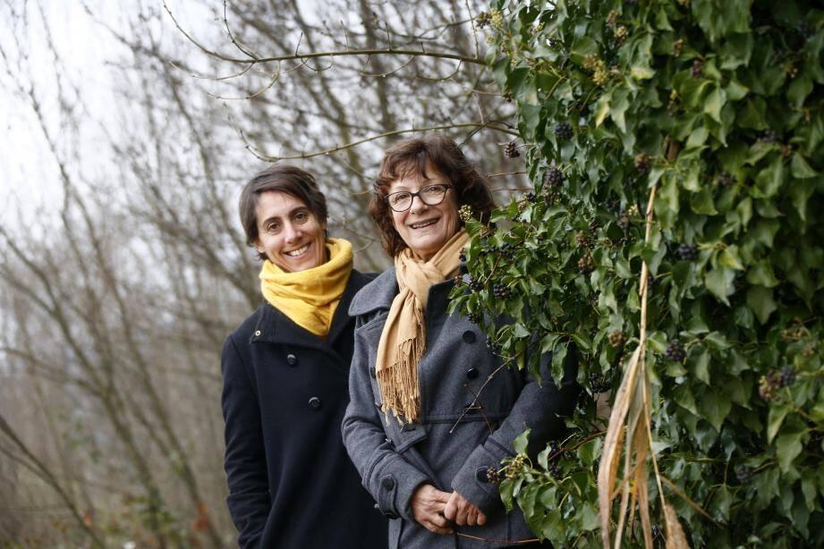 Claire Mignet (à gauche) et Nicole Rulla,respectivement directrice et présidente,incarnent la dynamique de territoire portéepar le Conservatoire méditerranéen partagé.