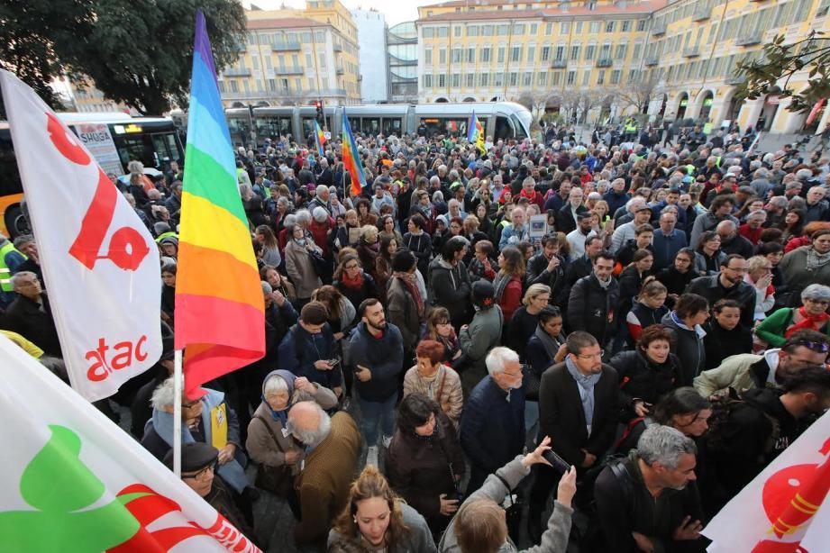 Rassemblement de soutien à Geneviève place Garibaldi ce lundi