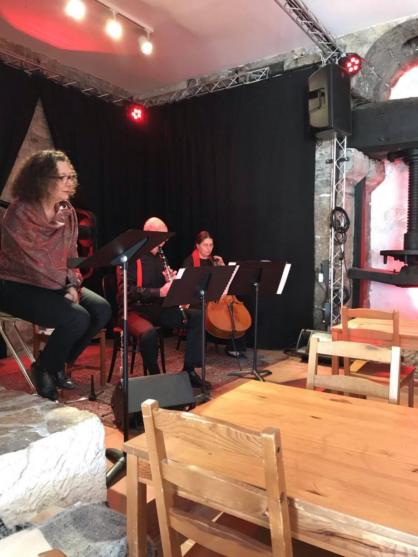 Clarinette et violoncelle composent le duo ClariCello.