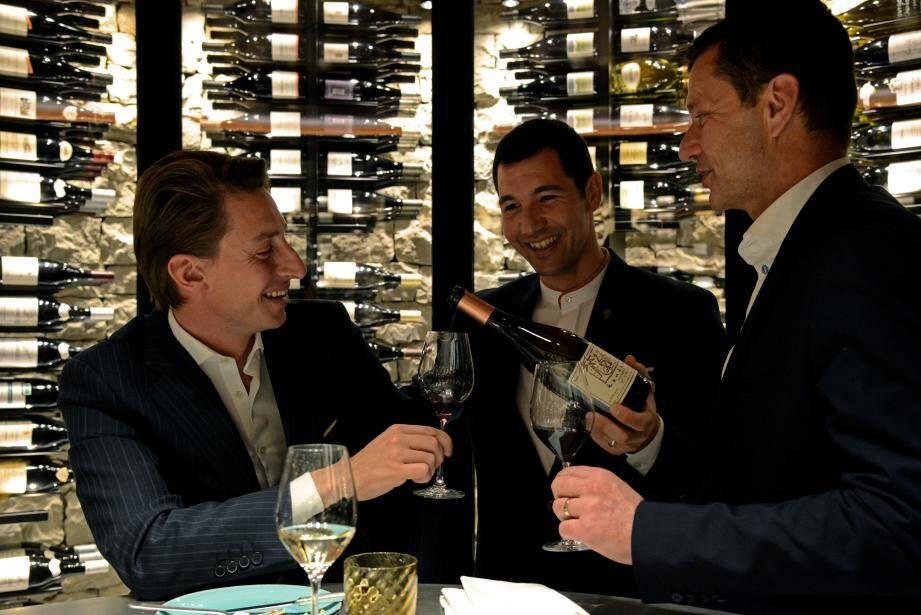 «Générosité et partage» : les deux mots d'ordre du Cercle du vin.