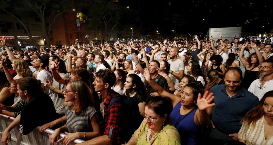 La fête de la musique dans les rues de Monaco