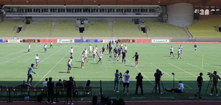 L'entraînement de lundi 22 juillet sera ouvert au public au stade Louis-II.