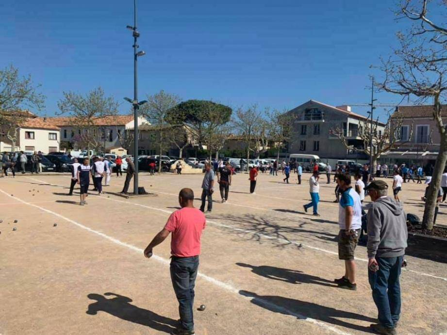 La place Victor Hugo servira de carré d'honneur au Supranational organisé ce week-end par la Boule cogolinoise.