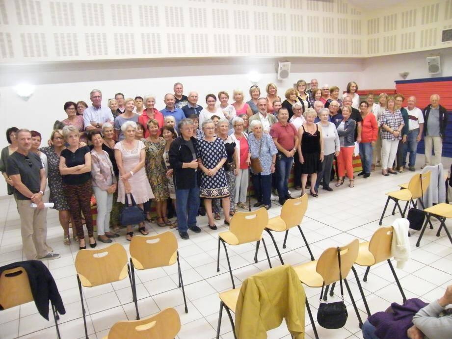 Près d'une cinquantaine de personnes ont assisté à l'assemblée générale.