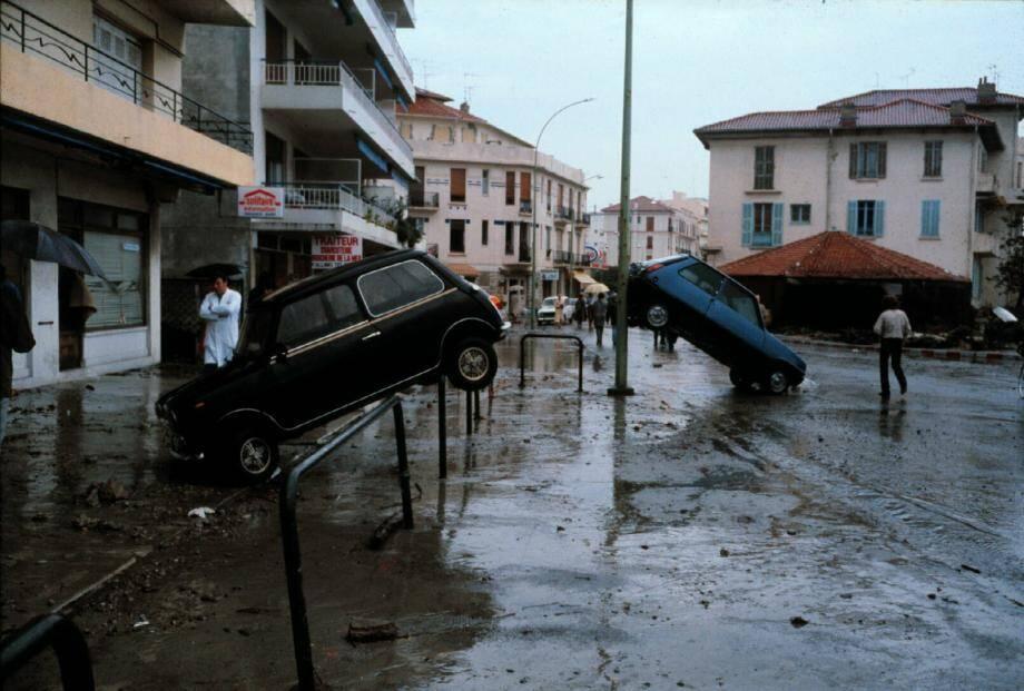 A Antibes, le quartier de la Salis avait été dévasté.